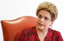 On Monday, Rousseff said in an interview with French radio RFI that she would refuse to attend the opening ceremony with anything less than presidential status.