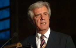 Tabare Vazquez had instructed foreign minister Rodolfo Nin Novoa to comply with the alphabetical order Mercosur presidency transfer as originally planned.