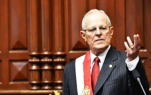 """I want a social revolution for my country! I long for Peru in five years to be more modern, more just, more equal,"" Kuczynski said before congress"
