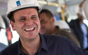 Rio's Mayor Eduardo Paes deployed hundreds of workmen to the Olympic village and expects to have all 31 blocks ready for use by the end of the week.