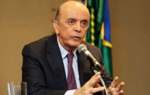 "Serra sent a letter underlining that the chair of the group remains ""vacant"" and accused Uruguay of causing ""uncertainty"" inside the group"