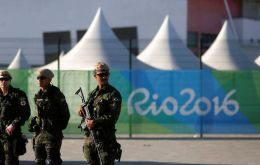 Brazil has more than 85,000 military and police personnel deployed for the Games,  twice the number present for the London Olympics in 2012.