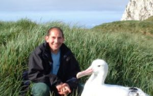 Lead author Dr Richard Phillips from BAS says seabirds become hooked on baited hooks, trapped in nets or collide with warp cables, when scavenging for food