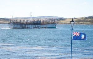 Fisheries is another of the Falklands' main industries