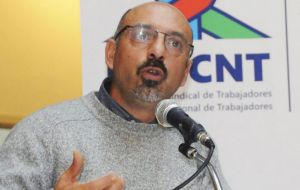 """Pit-Cnt considers that Chile´s labor legislation is far inferior to that of Uruguay"" warns Pit-Cnt chairman Marcelo Abdala"