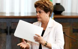 "Rousseff's proposal to hold a referendum on moving up the date of the next presidential election was part of a ""Letter to Brazilians"""