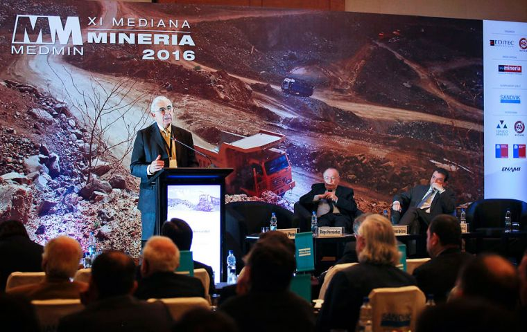 The Commercial Section of the British Embassy Santiago supported the Small and Medium Scale Mining Conference, Medmin, held on Monday 8 August in Santiago.