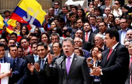 President Juan Manuel Santos, who has staked his legacy on the peace process, faces a tough political battle to win the referendum.