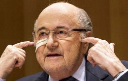 """My name wouldn't be Sepp Blatter if I didn't have faith, if I wasn't optimistic,"" he told reporters before entering the Court of Arbitration for Sport"