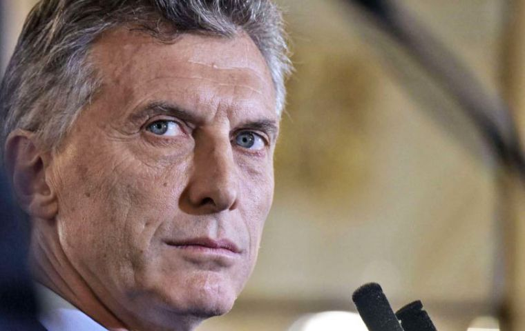 Apparently the ceremony has been postponed for October, when president Macri is expected to attend visiting the offshore rig