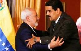 Maduro made the announcements in Caracas next to with Iranian Foreign Minister Mohammad Javad Zarif, in the final leg of his South American tour