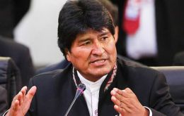 """Once again, the national government has quashed an attempted coup. I'm convinced of that,"" claimed the populist head of state Morales"