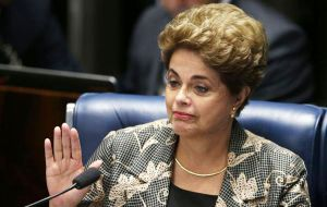 Rousseff has argued that budget maneuvers were common practice under previous administrations and has slammed the impeachment drive as an attempted coup.