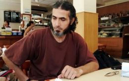 Diyab and five other ex-Guantanamo inmates resettled along with him have had a running dispute with Uruguay's government over housing and living allowances