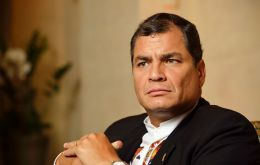 "Ecuadoran President Rafael Correa called the senate vote impeaching Rousseff ""an apology for abuse and treason."""