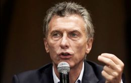 """It is my responsibility to implement the ideas to support changes, cultural changes which are reaffirmed every day, but it depends on all Argentines"", said Macri"