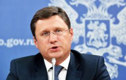 "Russia's energy minister, Alexander Novak, hailed the cooperation as marking a ""new era"" in relations between Moscow and Riyadh."