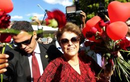The ex president said she wants to be close to her daughter and grandchildren in Porto Alegre, and ruled out any involvement in electoral politics in the near future