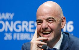 "Infantino also gets a car and lodgings paid during his term of office and ""expenses in accordance with FIFA's expenses regulations ($2,000 per month)"""
