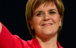 "The bill would then be ready for ""immediate"" introduction if it becomes clear that there was voter support for Scottish independence, Sturgeon said"