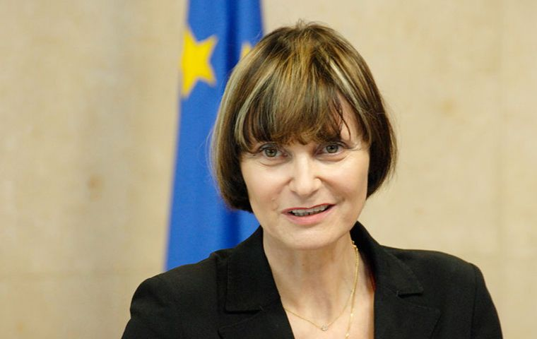 Micheline Calmy-Rey said the two countries shared a common purpose out - or planning to be out - of the European Union.