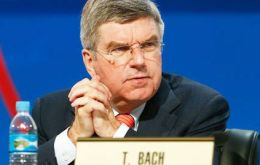The police pointed out that IOC president Thomas Bach is being treated as a witness, not a suspect.