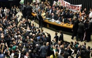 About 60% of the 513 lawmakers in Brazil's lower house are under investigation for various allegations, according to watchdog group Transparency Brazil.
