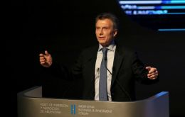 """We're planning a meeting in New York during the UN sessions. We're going to establish a round of conversations talking about all issues"", Macri was quoted"