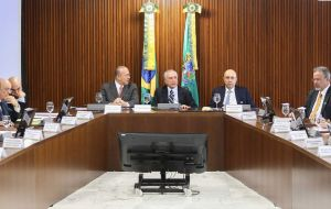 """We need to open up to the private sector because the state cannot do everything,"" Temer told ministers in a meeting to discuss the plan, dubbed ""Project Growth."""
