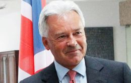 "FCO Minister Alan Duncan said that the UK and Argentina are building a positive relationship based on areas where ""we so clearly agree""."