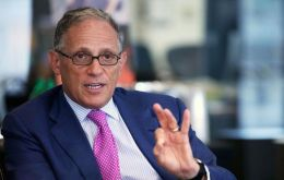 """We're willing to finance all possible export import projects, and at the lowest possible rates to support Argentina in its new process"", Hochberg said"