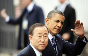 This is a special UN General Assembly since it's the last for President Obama and for UN Secretary General Ban Ki-moon