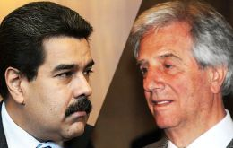 The Vazquez administration has tried by all means to prevent fifth full member Venezuela from being ousted of Mercosur