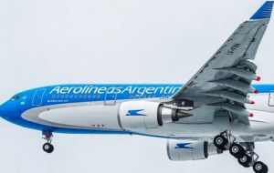 This includes US$900 million to build thermal power plants and a US$280 million loan to airline Aerolineas Argentinas to finance the purchase of seven airplanes.