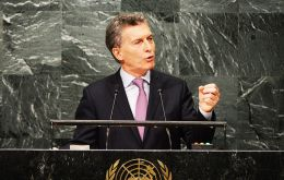 "Macri called on London to ""solve the two-century dispute in a friendly manner"", and expressed interest in moving forward in bilateral relations mutually beneficial"
