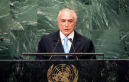 "The Brazilian president said that the impeachment took place ""with the most absolute respect of the constitutional order."""