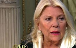 """I support Macrí's UN speech on Malvinas and also have a great respect for minister Malcorra, but officials must also learn to respect Congress"", said Carrió"