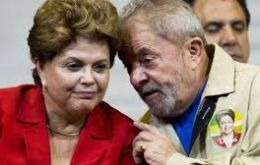 """Brazil is going through a very difficult moment. A process is underway that is systematically breaking the constitution,"" Rousseff told supporters at a rally"