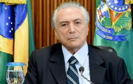 Temer candidly admitted that it had become imperious to change the economic course since Brazil has been in the worst recession since the 1930s
