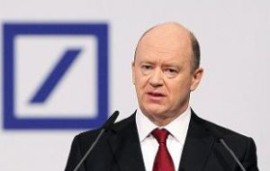 Deutsche Bank shares have fallen 52% this year as the bank goes through a wrenching restructuring and cost-cutting under CEO John Cryan.