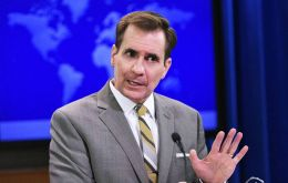 """Kerry spoke of our concern about the economic and political challenges that have affected millions of Venezuelans"", said State Department Spokesman John Kirby."