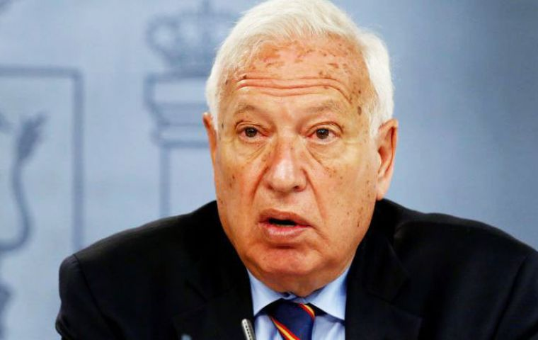 In the letter, García-Margallo said Brexit would have implications for Gibraltar and made clear his desire for urgent bilateral dialogue with the UK.
