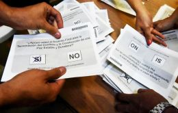 Colombia voted 50.23% to 49.76% against the accord, with 99.6% of the votes counted, according to official results published online by electoral authorities.