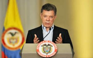 Santos told Colombians that a month-old bilateral cease-fire with FARC would remain in effect. He ordered his negotiating team to return to Cuba