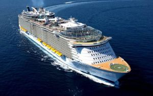 Royal Caribbean's 5,400-passenger Allure of the Seas, one of the world's biggest cruise ships, has changed the order of its calls at Cozumel, Falmouth and Jamaica