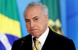 """It's clear there is disenchantment with the political class as a whole,"" Temer said adding the high abstention rate was a strong message to Brazilian politicians"