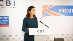 "CBI director-general Carolyn Fairbairn, said the letter called for ""ruling out of the really worst options, to reassure investors that the UK was still a really good place to invest""."