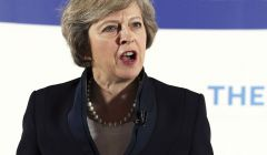 "PM Theresa May said a ""trade-off"" between controlling immigration and trade with Europe was the ""wrong way of looking at things""."