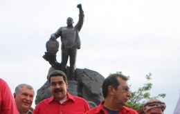 """I've decided to create the Hugo Chavez prize for peace and sovereignty,"" Maduro said during a broadcast to unveil a statue of Chavez designed by a Russian artist."