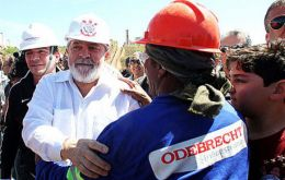 The new charges say Lula used his influence to secure financing for Odebrecht projects in Angola, and in return paid 30 million reais (US$9.31 million)